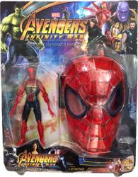 Set Figurina si masca Spider-man