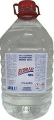 Gel alcoolic dezinfectant pentru maini Ekomax Gel PET 5 litri biocid virucid Gel antibacterian