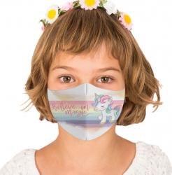 Masca reutilizabila din textil pentru copii 6-9ani Magic Masti chirurgicale si reutilizabile