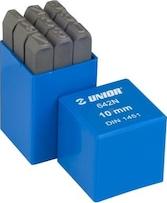 Set poansoane cifre Unior 8 mm
