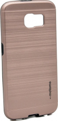 Husa Samsung Galaxy S6 Edge Motomo V5 Roz-Auriu Huse Telefoane