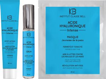 Pachet promo Acid Hyaluronique Intens Crema Ten 50ml Serum Ten 15ml si Masca Ten 25ml Institut Claude Bell Tratamente, serumuri