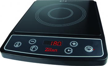 Plita cu inductie si timer ZILAN ZLN-0559 1 Arzator 2000 W Negru