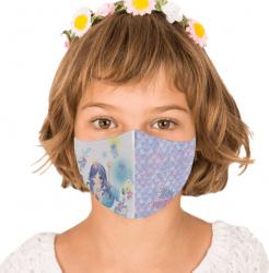 Masca reutilizabila din textil pentru copii 6-9ani Mermaid Masti chirurgicale si reutilizabile