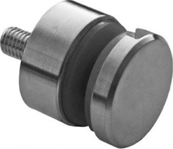 Conector lateral pentru sticla E746 din inox AISI304 Distantier 15 mm Grosime sticla 6-16 mm Finisaj Satinat Accesorii feronerie