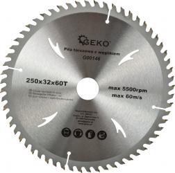 Disc pentru lemn 250x32x60T GEKO G00146
