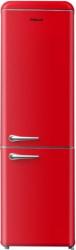 Frigider cu doua usi Finlux FBRED-260 Clasa A+ 252 L H 184 cm Rosu Frigidere Combine Frigorifice