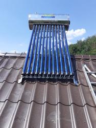 Panou solar apa calda presurizat presurizat 150 Litri inox