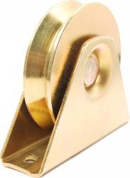 Rola pentru poarta culisanta de tip V pentru cornier cu diametrul 90 mm Accesorii feronerie