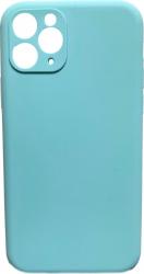 Husa iPhone 11 Pro 100 silicon lichid hibrid Verde Mint Huse Telefoane