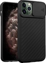 Husa premium Iphone 11 Pro Max ultraslim protectie camera Negru Huse Telefoane