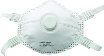 Set 10 buc masca de protectie faciala FFP 3 cu supapa CONDOR Masti chirurgicale si reutilizabile