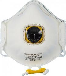 Set 10 masti de protectie FFP2 cu supapa Spirotek VS2200 NR D Masti chirurgicale si reutilizabile