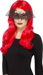 Masca metalica liliac Costume serbare