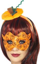 Set de palarie si masca de dovleac Costume serbare