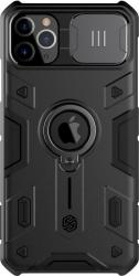 Husa protectie spate si camera foto negru pentru Apple iPhone 11 Pro- Nillkin CamShield ARMOR Huse Telefoane