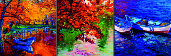 Set Tablouri forex 3 Piese Beautiful autumn 33 and times 33 cm Tablouri