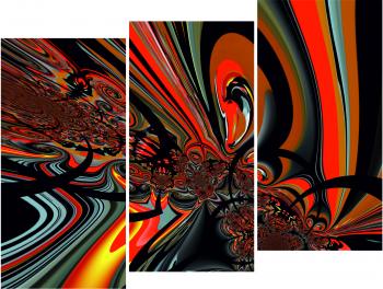 Set Tablouri forex 3 Piese Design abstract 20 x 40 cm Tablouri