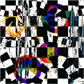 Tablou Canvas Abstract Background 50x50 cm Tablouri