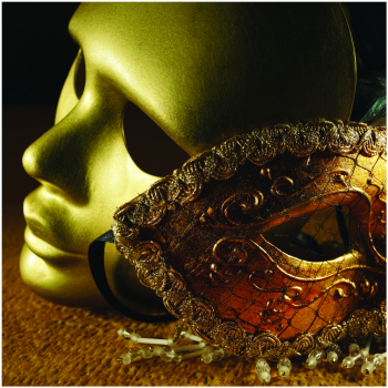 Tablou Canvas Gold mask 50x50 cm Tablouri