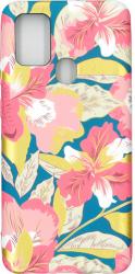 Husa protectie spate cu motiv floral Luxo M12 pentru Samsung Galaxy A21s Huse Telefoane