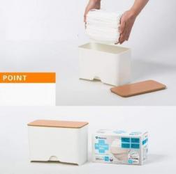 Dispenser Pentru Masti Faciale Ideal Pentru Cabinet Office Fara Masti Masti chirurgicale si reutilizabile