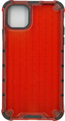 Husa protectie spate anti-shock hexa rosu pentru Apple iPhone 11 Pro Max- Millo Huse Telefoane