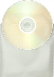 Plic din plastic transparent pentru CD / DVD / BD - set de 100 buc.