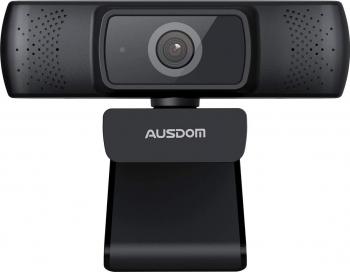 Camera web HD1080P Full HD Auto focus microfon Negru