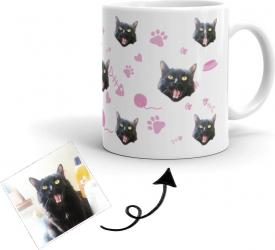 Cana personalizata cu poza Pisica Cadouri