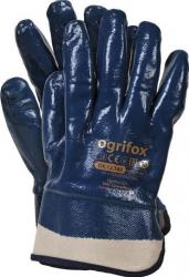 Manusi de protectie acoperite cu nitril cu manseta rigidizata Raw Pol 10 Articole protectia muncii