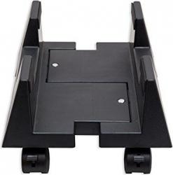 Suport mobil cu rotile pentru unitate calculator negru Accesorii electrocasnice