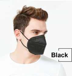 Masti de Protectie KN95 10 Bucati masca negru Masti chirurgicale si reutilizabile
