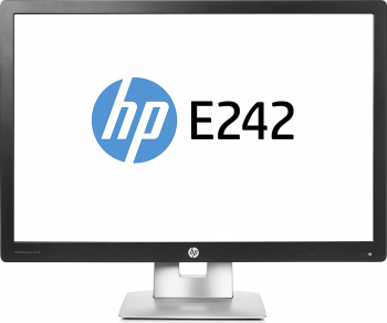 Monitor Refurbished HP EliteDisplay E 242 IPS LED 24 inch HDMI Grad -A Monitoare LCD LED Refurbished