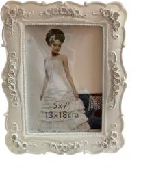 Rama foto ceramica imprimeu floral 13x18 cm Rame Foto