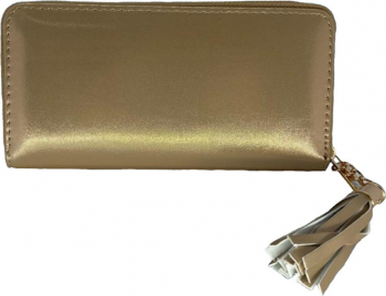 Portofel de dama piele ecologica auriu F31-08 Portofele