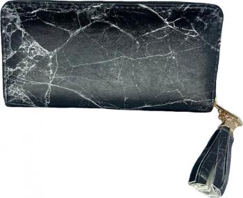 Portofel de dama piele ecologica negru Portofele