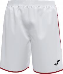 Pantalon sport Joma Liga Alb/Rosu marimea 2XS 12 ani