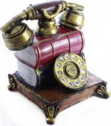 Pusculita telefon fix aspect vintage Jucarii