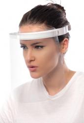 Viziera Protectie Faciala Material Transparent Rezistent Articole protectia muncii