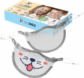 Masca copii pentru nas si gura tip viziera 2 bucati Cerkamed Masti chirurgicale si reutilizabile