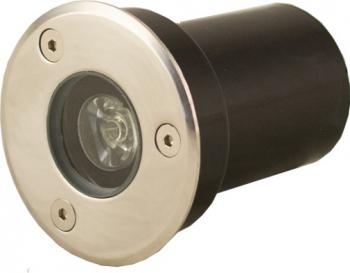 Spot IP67 LED 1W - 50 000 ore incastrabil pentru pavaj LED Market 4500K lumina naturala Corpuri de iluminat