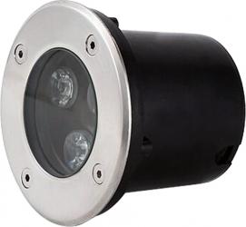 Spot IP67 LED 3W - 50 000 ore incastrabil pentru pavaj LED Market 4500K lumina naturala Corpuri de iluminat
