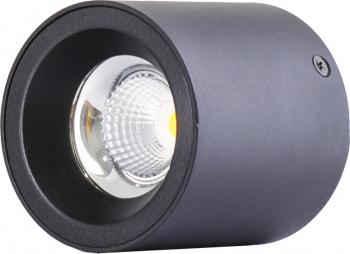 Spot LED 12W - 50 000 ore aplicat LED Market M1810B 3000K lumina calda Corp Negru Corpuri de iluminat