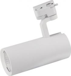 Spot LED 12W - 50 000H directionabil pe sina trifazata LED Market D60-W 4200K lumina naturala Corp Alb Corpuri de iluminat