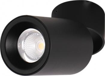 Spot LED 20W - 50 000 ore orientabil aplicat LED Market M1821B 3000K lumina calda Corp Negru Corpuri de iluminat