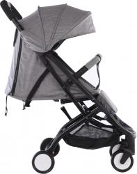 Carucior Sport cu strangere tip Troller Baby Grace A9 Gri deschis and nbsp - Krista and reg