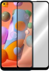 Folie G-Tech Samsung Galaxy A21S Lipici pe intreaga suprafata Acoperire completa Sticla AGC Neagra Folii Protectie