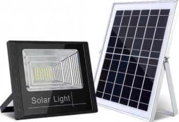 Proiector cu panou solar si telecomanda 60w IP65 Corpuri de iluminat