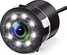 Camera video auto marsarier cu 8 leduri mers inapoi spate 170 grade linii de ghidaj si Night Vision Camere Video Auto